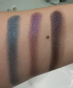 MUFE black purple close up