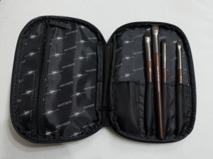 travel case fits full size eye brush