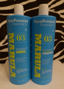 Marula Nourishing Shampoo and Conditioner