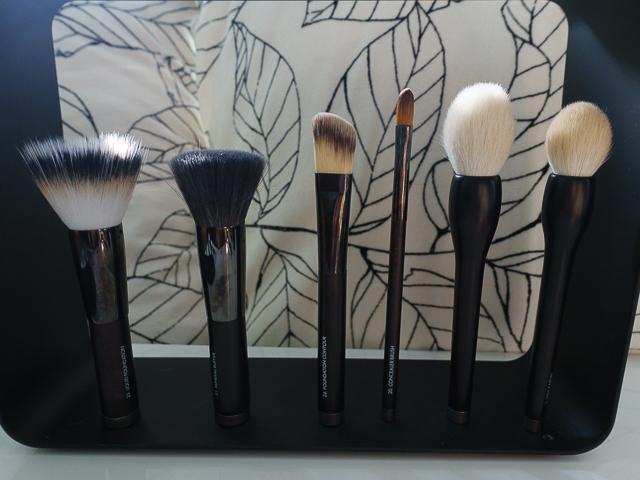 rae morris brushes. #23 liquid foundation, #21 mineral buffer, #24 foundation contour, # rae morris brushes